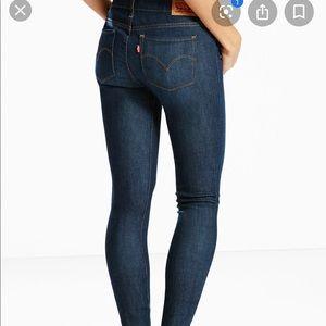 Levi's 511 low mid rise jeans
